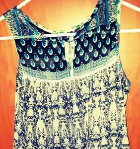 Patrons of Peace sleeveless top